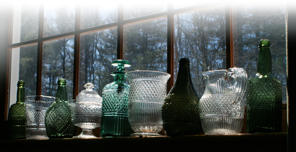 Article… Blown Three Mold Glass In America